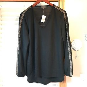 The limited collection NWT size m black blouse